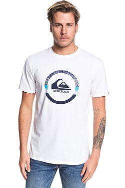 T-Shirt Quiksilver Snake Dreams - WBB0/White - men´s