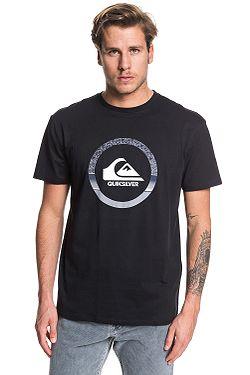 T-Shirt Quiksilver Snake Dreams - KVJ0/Black - men´s