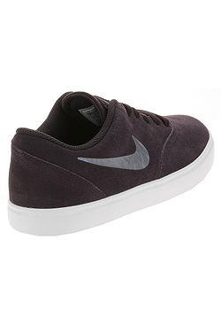 e16eb92e089ed ... topánky Nike SB Check Suede Ess+ GS - Burgundy Ash/Metallic Blue  Dusk/White
