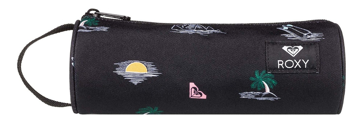 Roxy Off The Wall Pencil Case in Wintery Geo