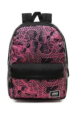 3e5d9718f batoh Vans Realm Classic - Azalea Pink/Vans Zine