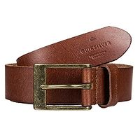 pásek Quiksilver Slim Premium Leather - CSD0/Chocolate Brown