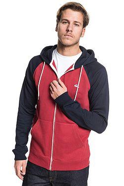 sweatshirt Quiksilver Everyday Zip - RQK0/Garnet - men´s