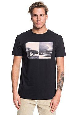 T-Shirt Quiksilver High Speed Pursuit - KVJ0/Black - men´s