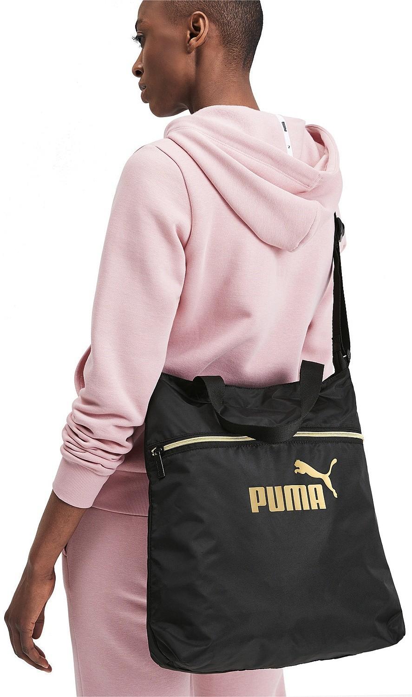 bag Puma Core Seasonal Shopper - Puma Black/Gold - women´s ...