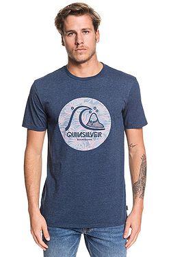 T-Shirt Quiksilver Custom Prints - BYKH/Moonlit Ocean Heather - men´s