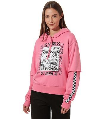 uznane marki Kup online uznane marki bluza Vans Sting - Azalea Pink - snowboard-online.pl