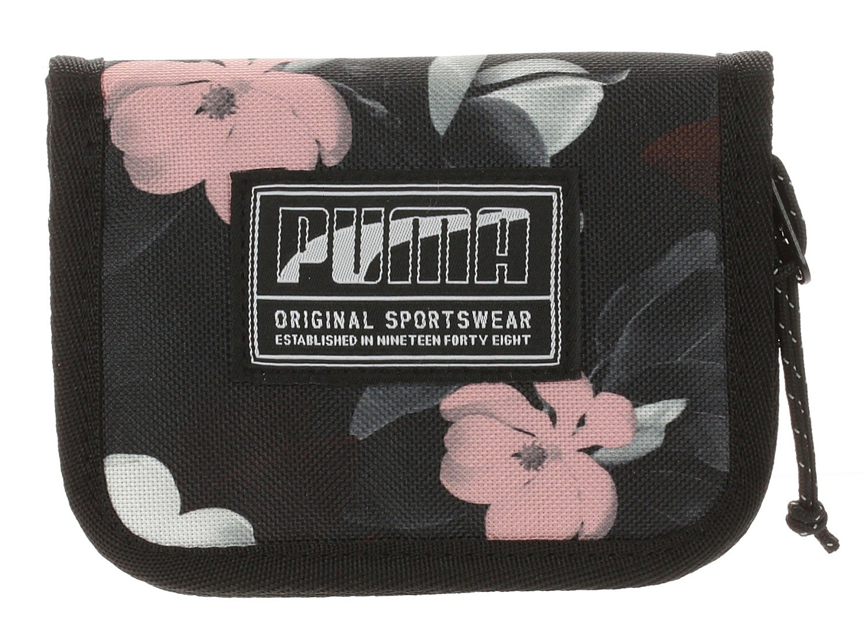 portefeuille Puma Academy - Puma Black/Floral AOP   Blackcomb.fr