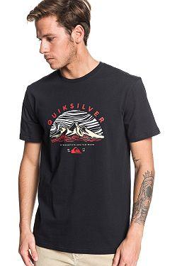 T-Shirt Quiksilver Dunescape - KVJ0/Black - men´s