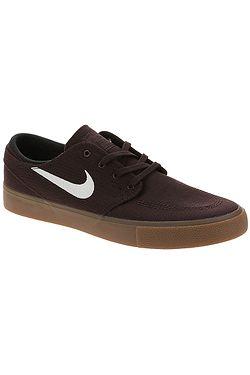 shoes Nike SB Zoom Janoski Canvas RM - Mahogany/White/Gum Light Brown