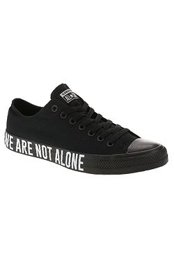 boty Converse Chuck Taylor All Star We Are Not Alone OX - 165382/Black/White/Black