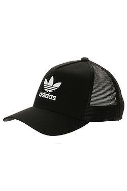 cap adidas Originals Aframe Trefoil Trucker - Black - men´s