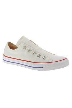 boty Converse Chuck Taylor All Star Teen Slip Starware - 564971/Vintage White/Habanero Red