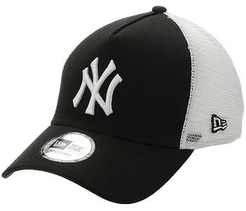 kšiltovka New Era 9FO Clean Trucker MLB New York Yankees - Black/White