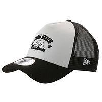 boné de basquete New Era 9FO Aframe Long Beach Trucker - White/Black - men´s