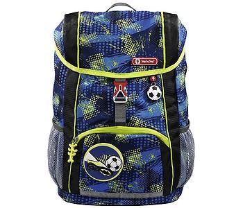 batoh Hama - Step By Step 183700/Fotbal - Blue/Yellow/Black