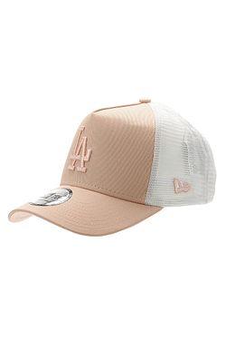 kšiltovka New Era 9FO AF League Ess.Trucker MLB Los Angeles Dodger - Blush/White