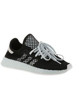 boty adidas Originals Deerupt Runner - Core Black/White/Blue Tint