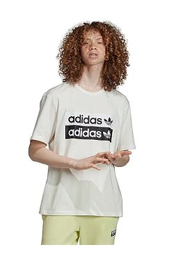 T-Shirt adidas Originals Vocal Logo - Core White - men´s