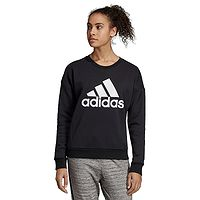 bluza adidas Performance Must Haves Badge Of Sport Crew - Black