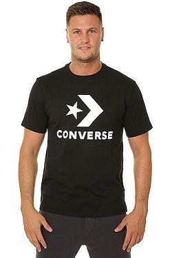 T-Shirt Converse Star Chevron/10018568 - A01/Converse Black - men´s