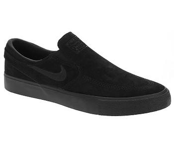 boty Nike SB Zoom Janoski Slip RM - Black/Black/Black/Black