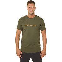 camiseta Animal Classico - Olive - men´s