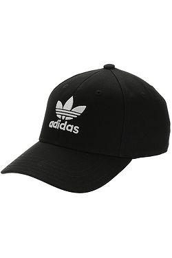 cap adidas Originals Baseball Classic Trefoil - Black/White - women´s
