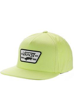 kšiltovka Vans Full Patch Snapback - Sharp Green
