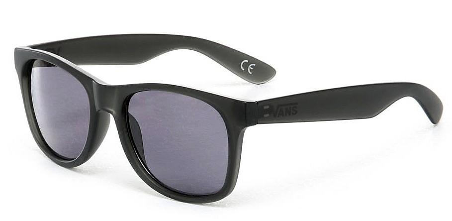 des lunettes Vans Spicoli 4 Shades - Black Frosted Translucent ...