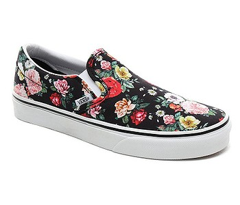 boty Vans Classic Slip-On - Garden Floral/Black/True White