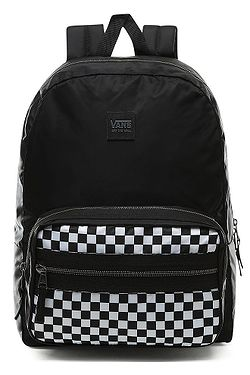 backpack Vans Distinction II - Black/White Checkerboard - women´s