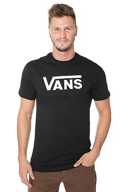 T-shirt Vans Classic - Black/White