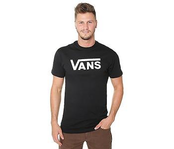 tričko Vans Classic - Black/White