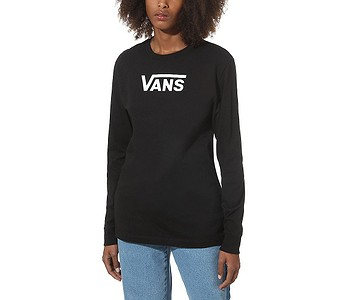 tričko Vans Flying V Classic LS - Black