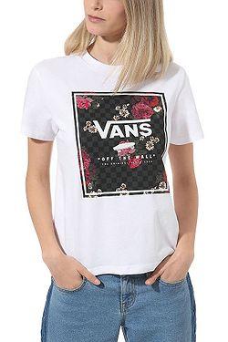 T-Shirt Vans Boxed Botanic - White - women´s