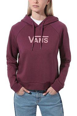 sweatshirt Vans Flying V FT Boxy - Prune - women´s