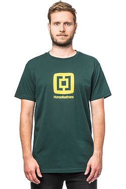 T-Shirt Horsefeathers Fair - Bistro Green - men´s