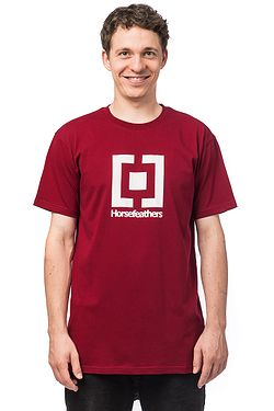 T-Shirt Horsefeathers Base - Rio Red - men´s