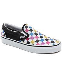 boty Vans Classic Slip-On - Glitter Checkerboard/Black/True White