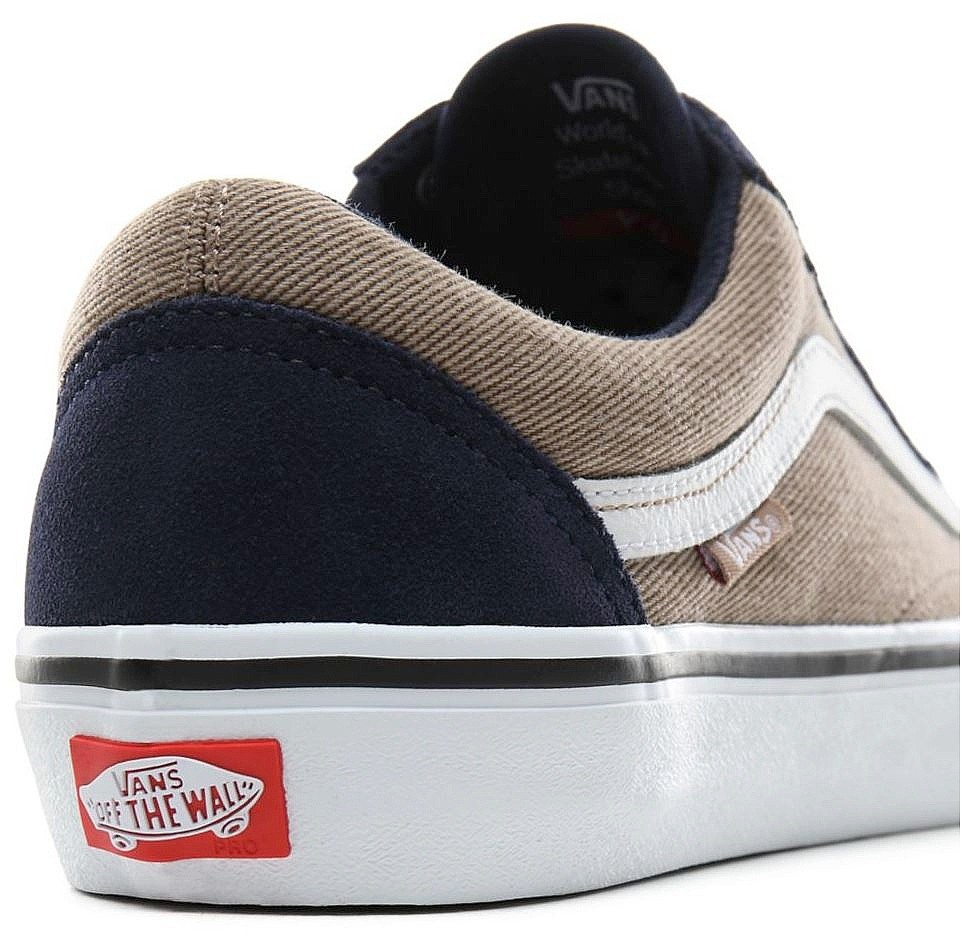 shoes Vans Old Skool Pro TwillDress BluesPortabella