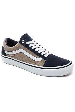 shoes Vans Old Skool Pro - Twill/Dress Blues/Portabella - men´s