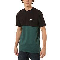 camiseta Vans Colorblock - Black/Vans Trekking Green - men´s