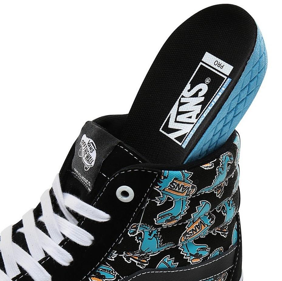 shoes Vans Sk8-Hi Pro - Vanosaur/Black