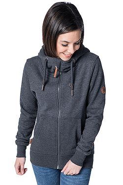 sweatshirt ALIFE AND KICKIN Yasmin Zip - Moonless - women´s