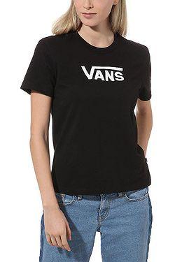 T-Shirt Vans Flying V Classic - Black - women´s