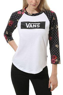T-Shirt Vans Botanical Tangle - White/Black - women´s