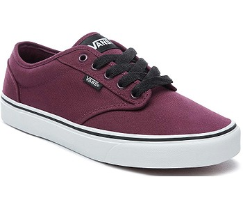 boty Vans Atwood - Canvas/Oxblood/White