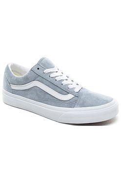boty Vans Old Skool - Pig Suede/Blue Fog/True White
