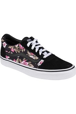 shoes Vans Ward - Roses/Black - women´s